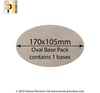 170x105mm Oval Base Pack