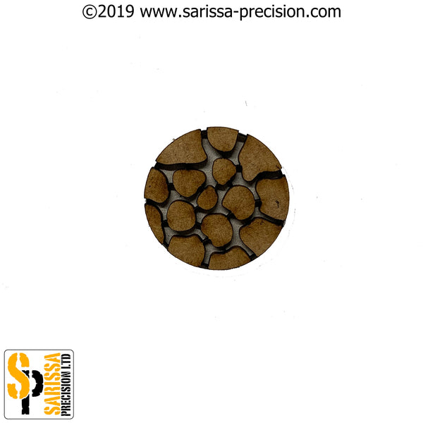 32mm Round Cobbles Base Pack