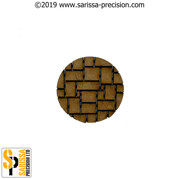 32mm Round Block Paved Base Pack