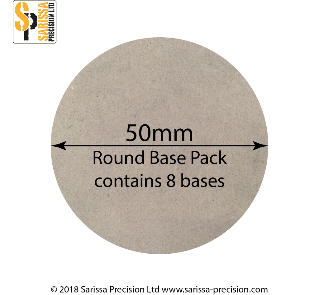 50mm Round Base Pack