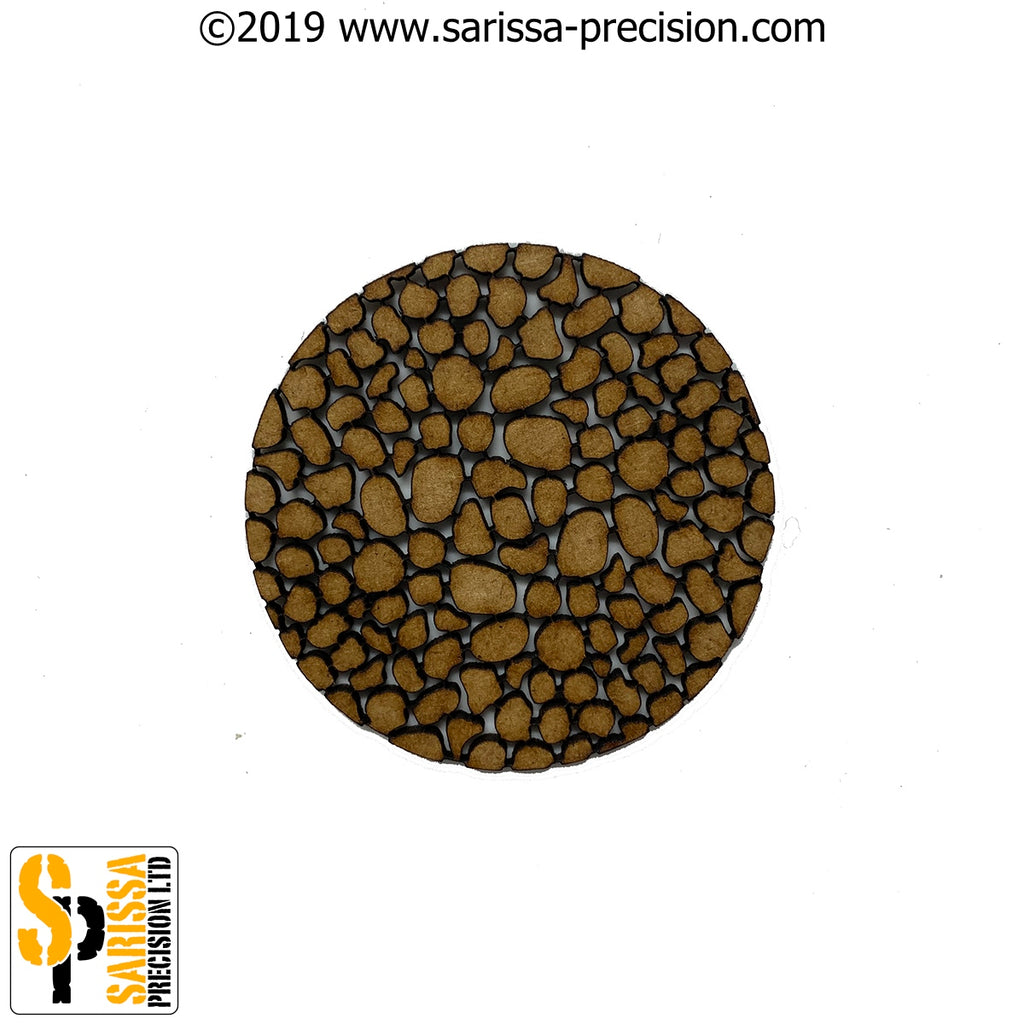 60mm Round Cobbles Base Pack