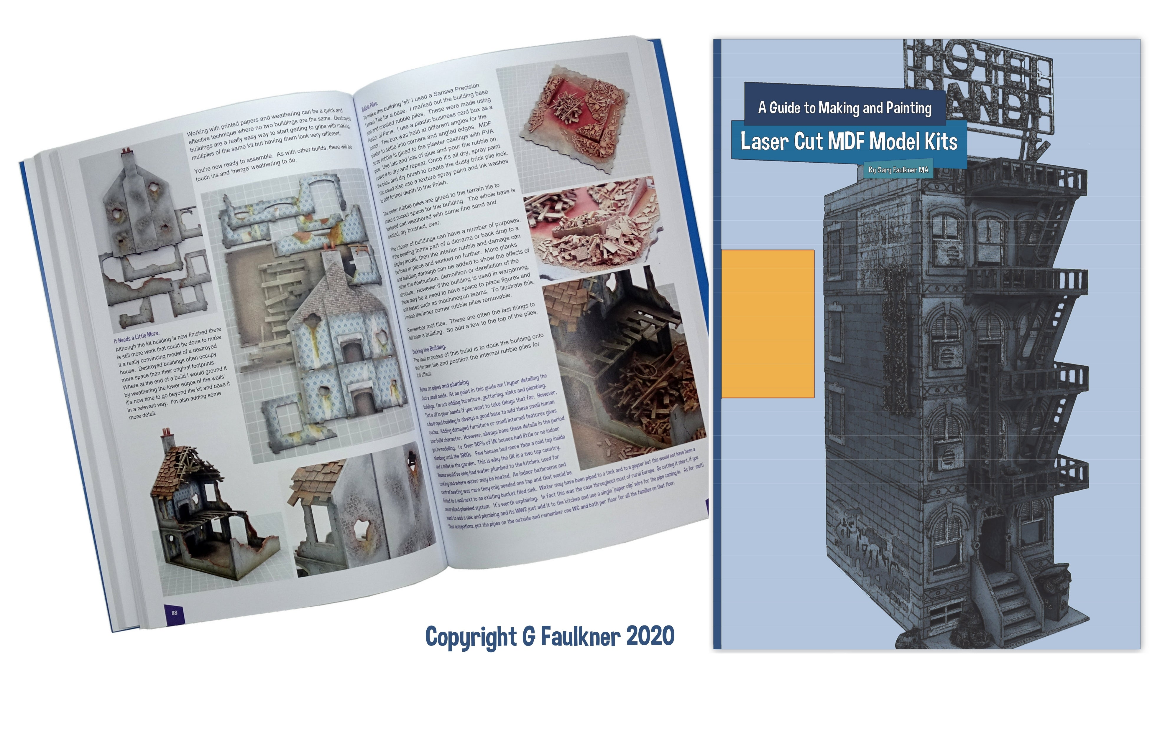 Guide to Making and Painting Laser Cut MDF Model Kits