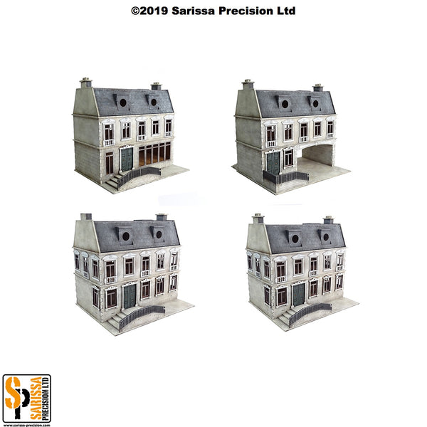 European Townhouse Scenery Set (28mm)