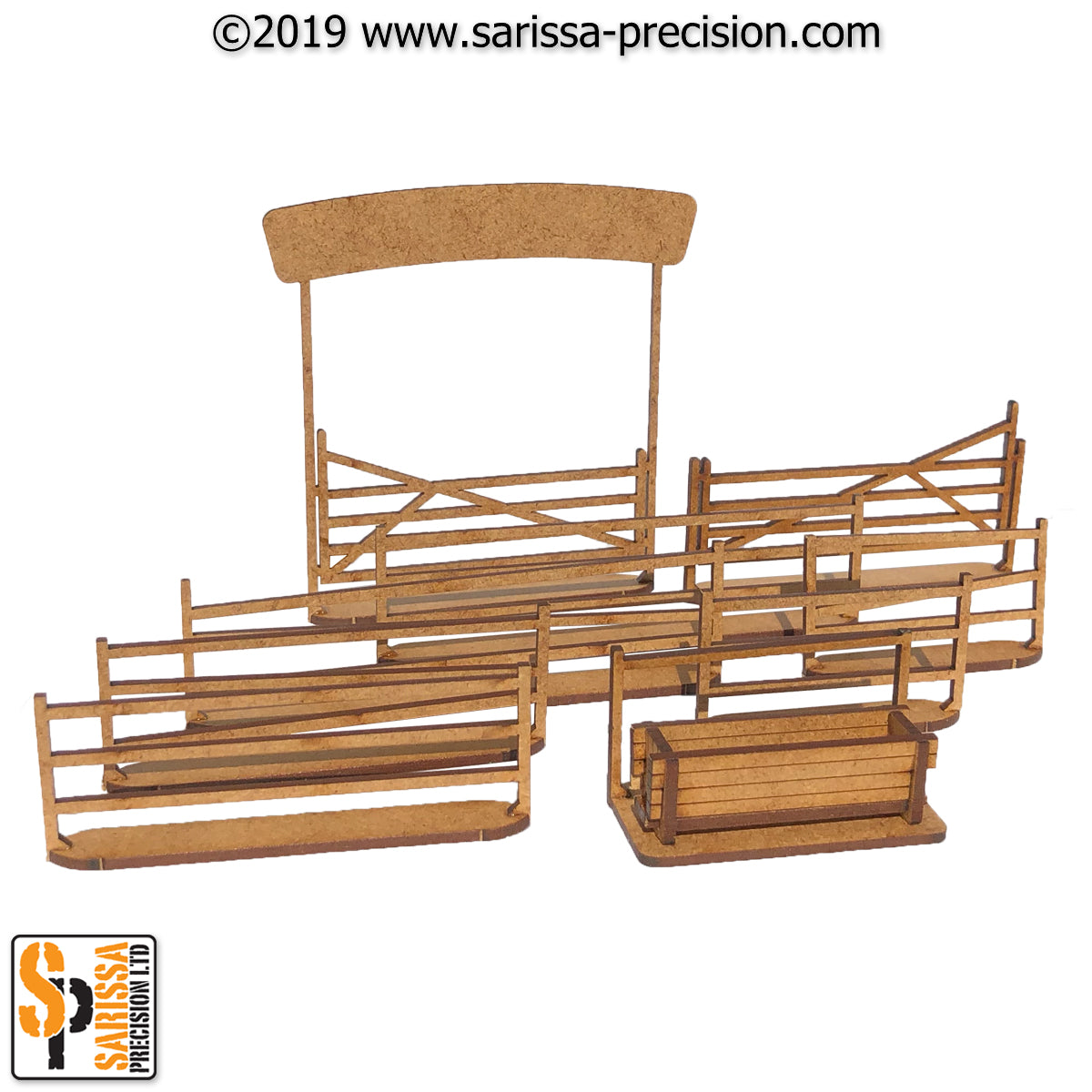 Ranch Fence Set