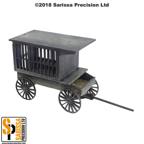 Tumbleweed 'Jail' Wagon - 28mm