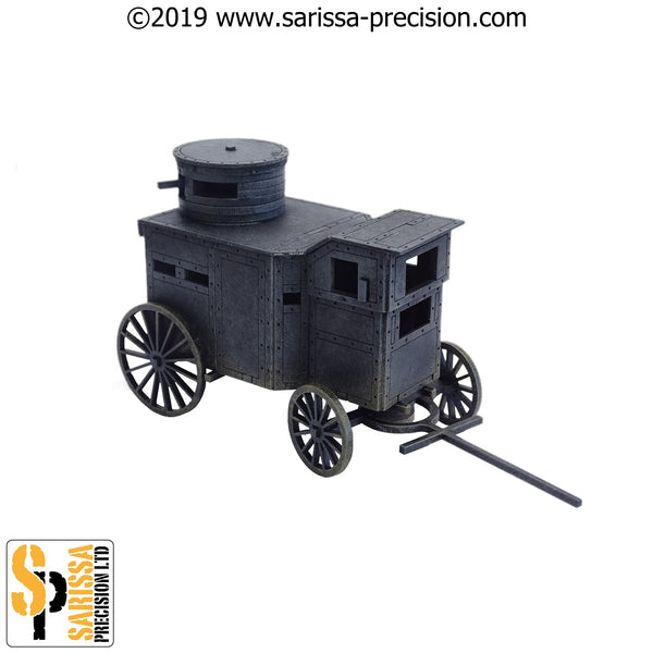 Armoured Stagecoach 'War Wagon' (28mm)