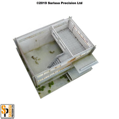 Secure Compound Scenery Set (28mm)