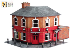 Corner Pub with Back Yard and Bunker