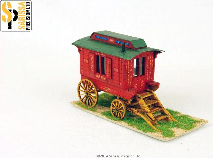 Ledge Type Gypsy Caravan