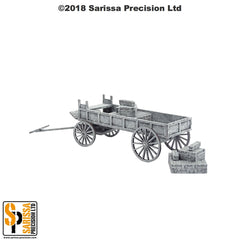 Colonial Wagon & Ammo Crates (28mm)