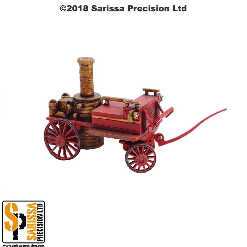 Steam Pumper Fire Engine - 28mm