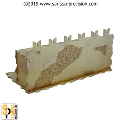 Desert Fort Arch Walls (28mm)