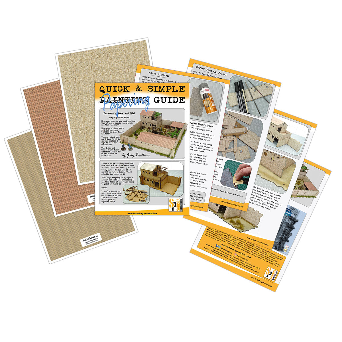 FREE: A Quick and Simple Papering Guide - Mediterranean Buildings