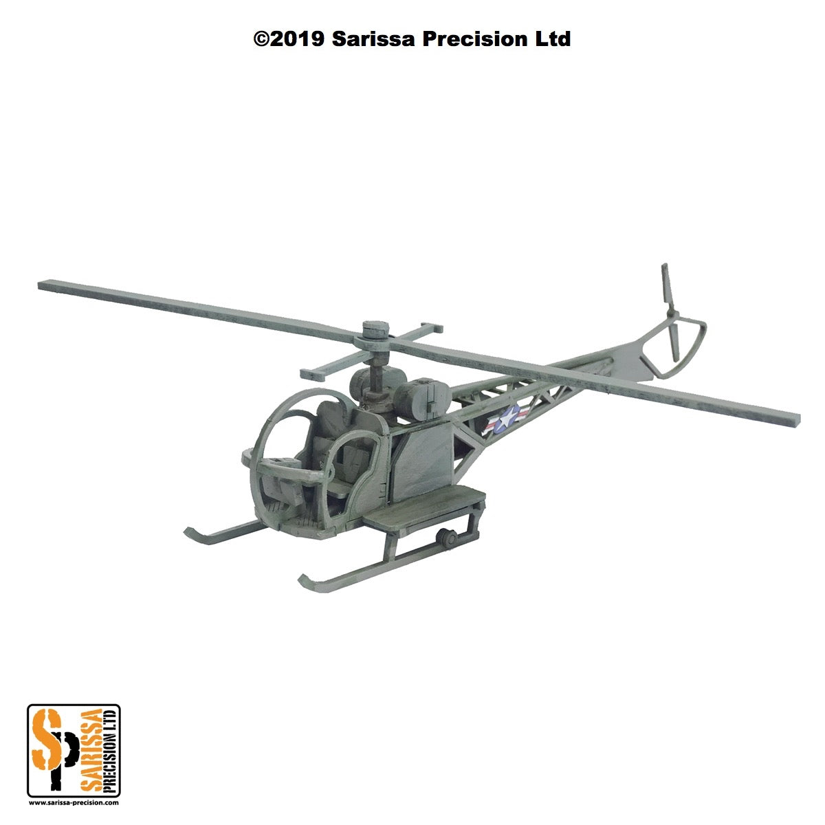 Sioux Helicopter (28mm)