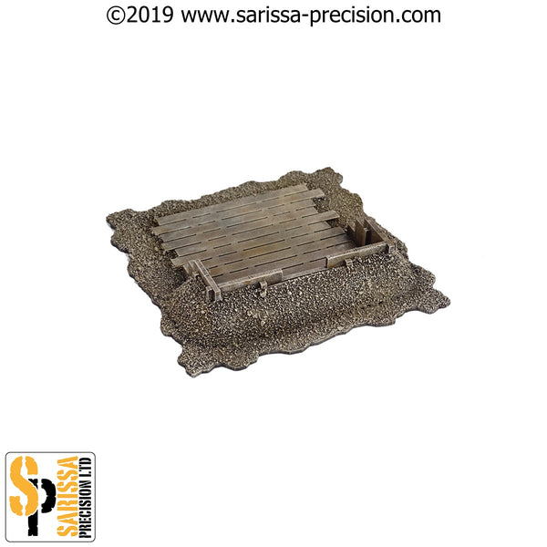 Earthwork Redoubt Set (28mm)