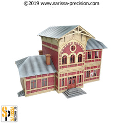 Russian Railway Station (28mm)