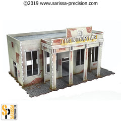 Stalingrad Tractor Plant & Entrance Set (28mm)
