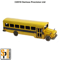 American School Bus - 28mm