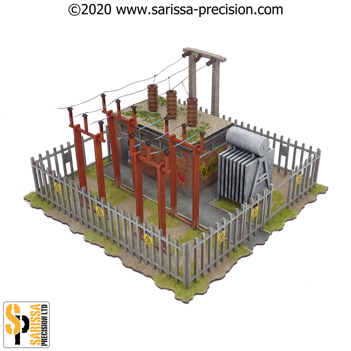 Electrical Substation (28mm)