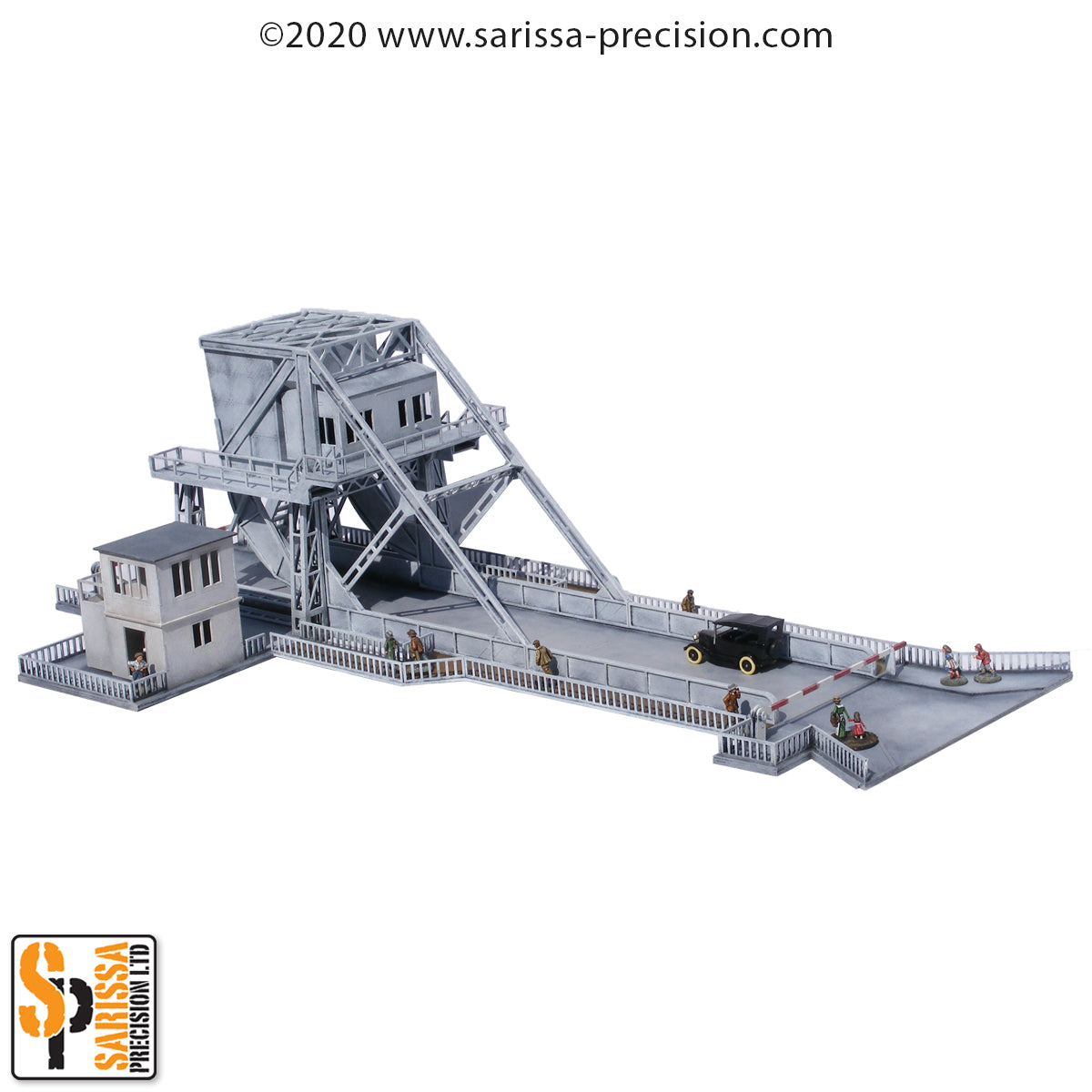 Pegasus Bridge (Operation Deadstick) (28mm)