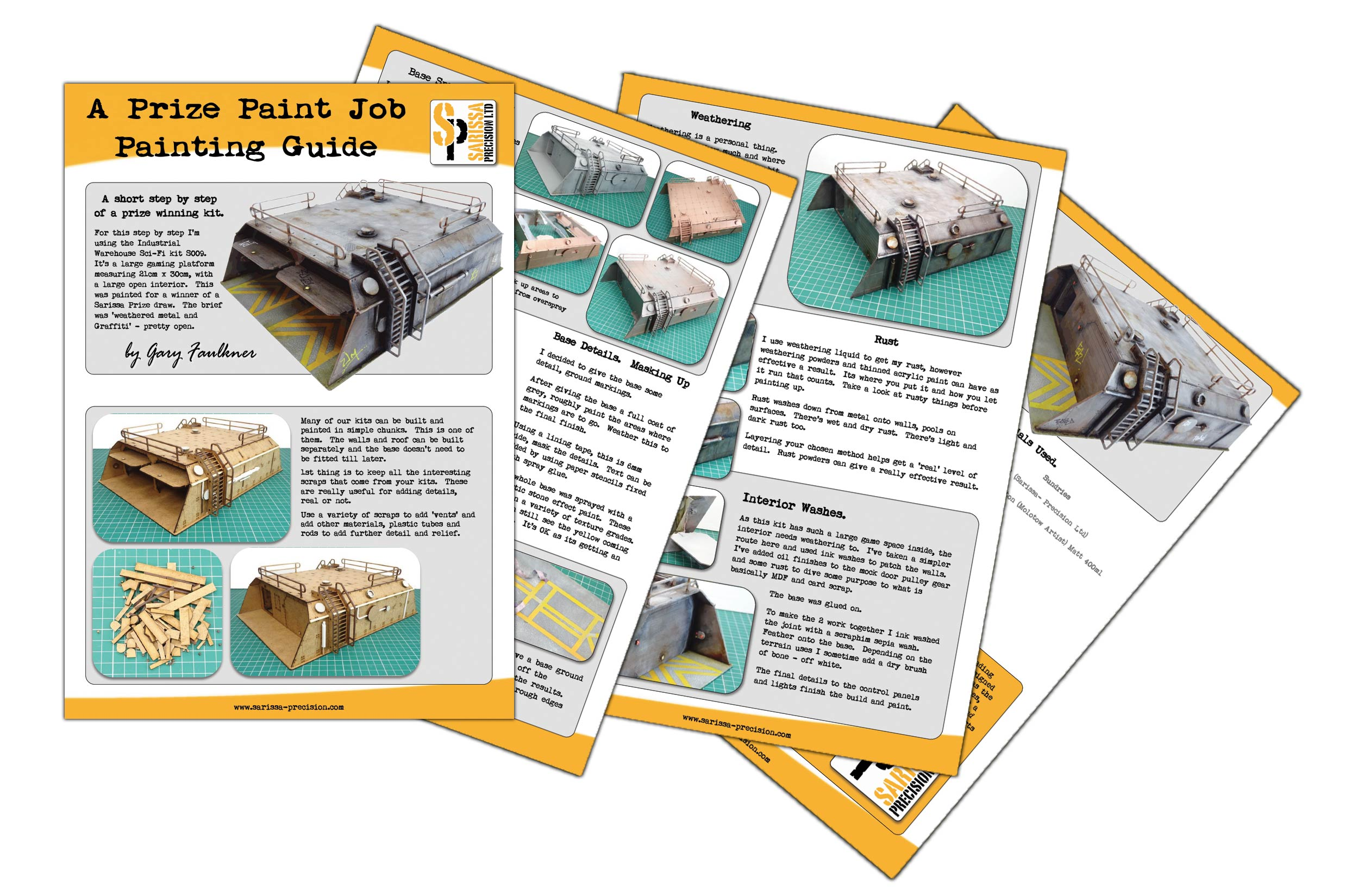 FREE: A Prize Paint Job Painting Guide