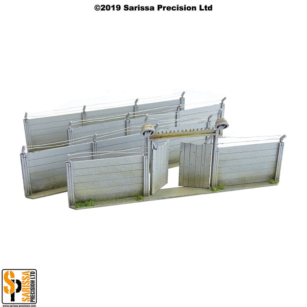 Compound Walls Set (28mm)