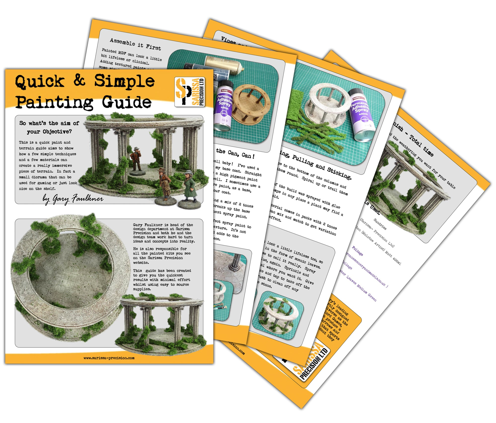 FREE: Greco Roman Ring Temple - A Simple Painting Guide