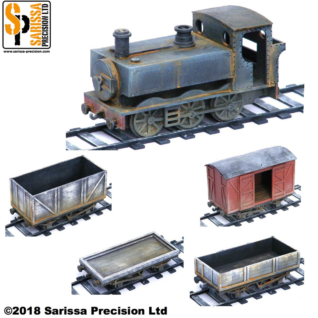 Pannier Tank Engine Starter Set