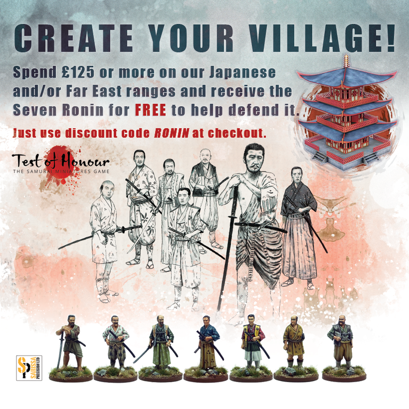 Ronin Figure Set for Test of Honour Deal
