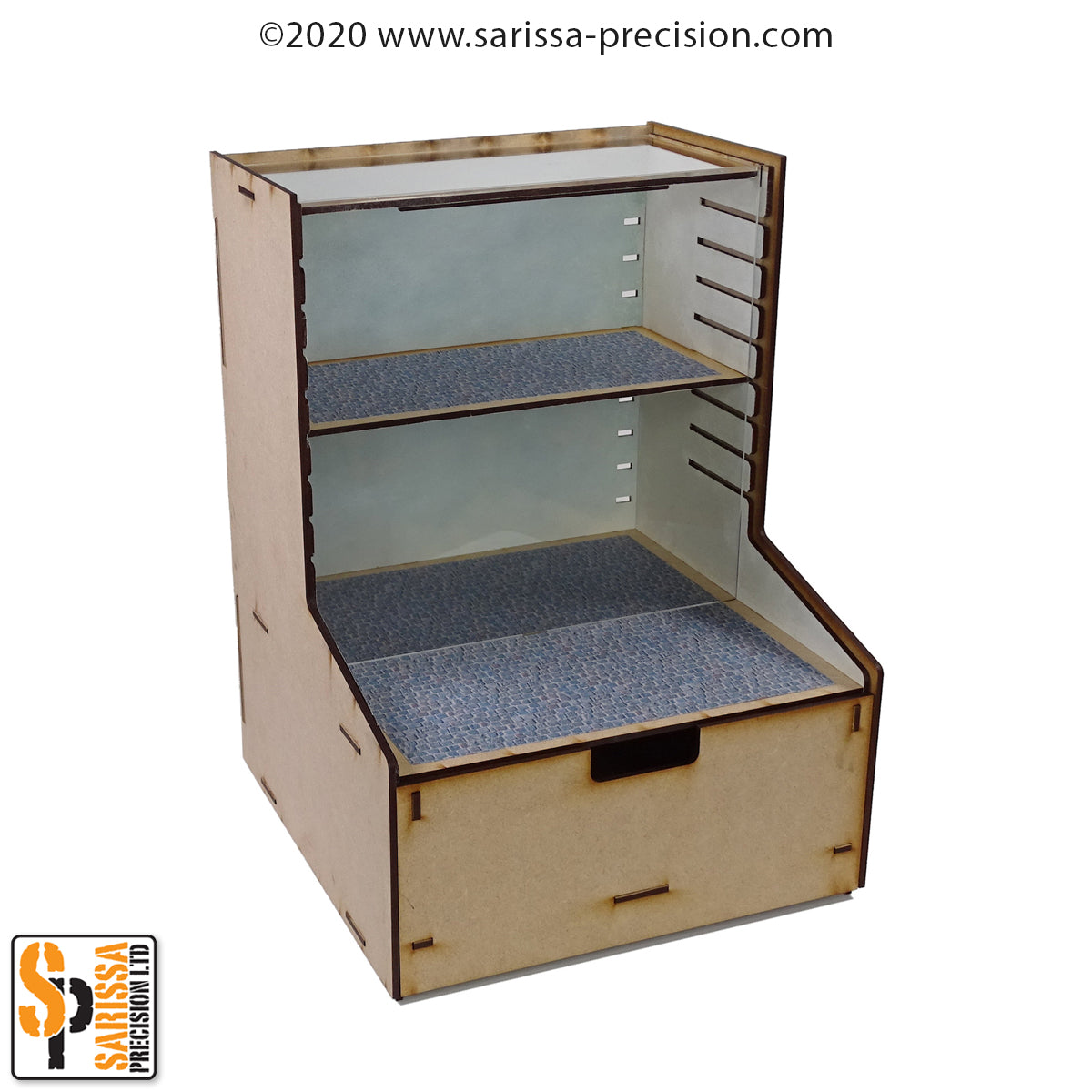 Storage & Display Box with Drawer