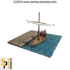 Roman Docks Set (28mm)