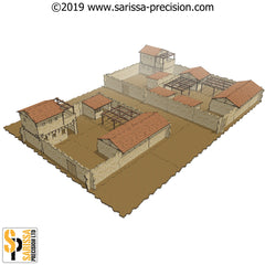 Mediterranean Villa - Scenery Set 2 (28mm)