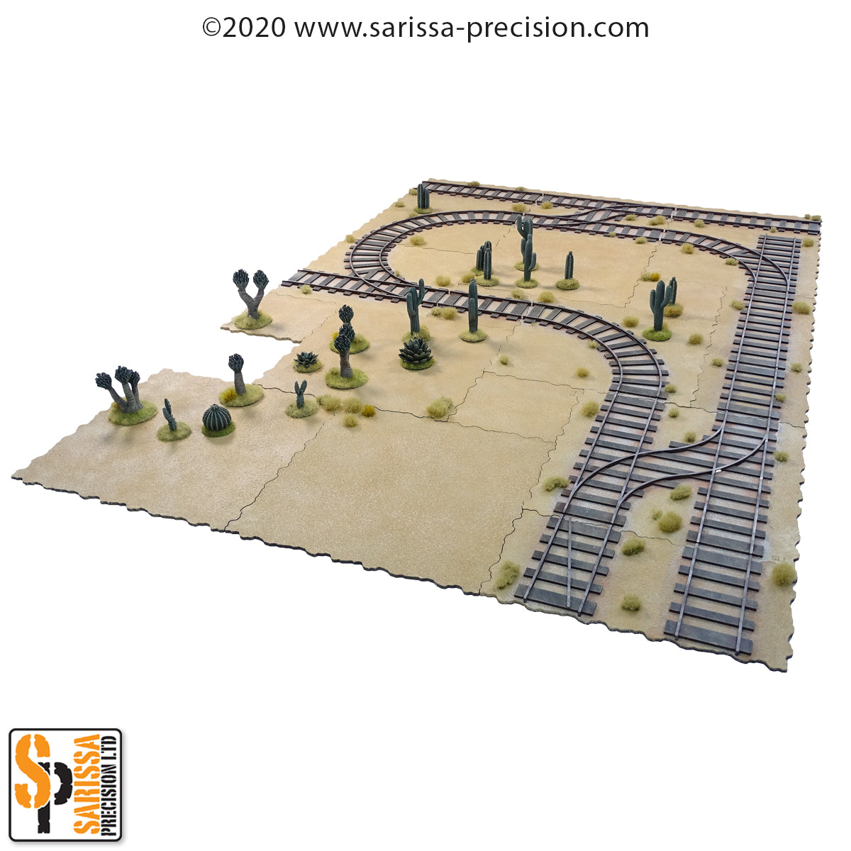 Terrain Tile compatible Rail Set