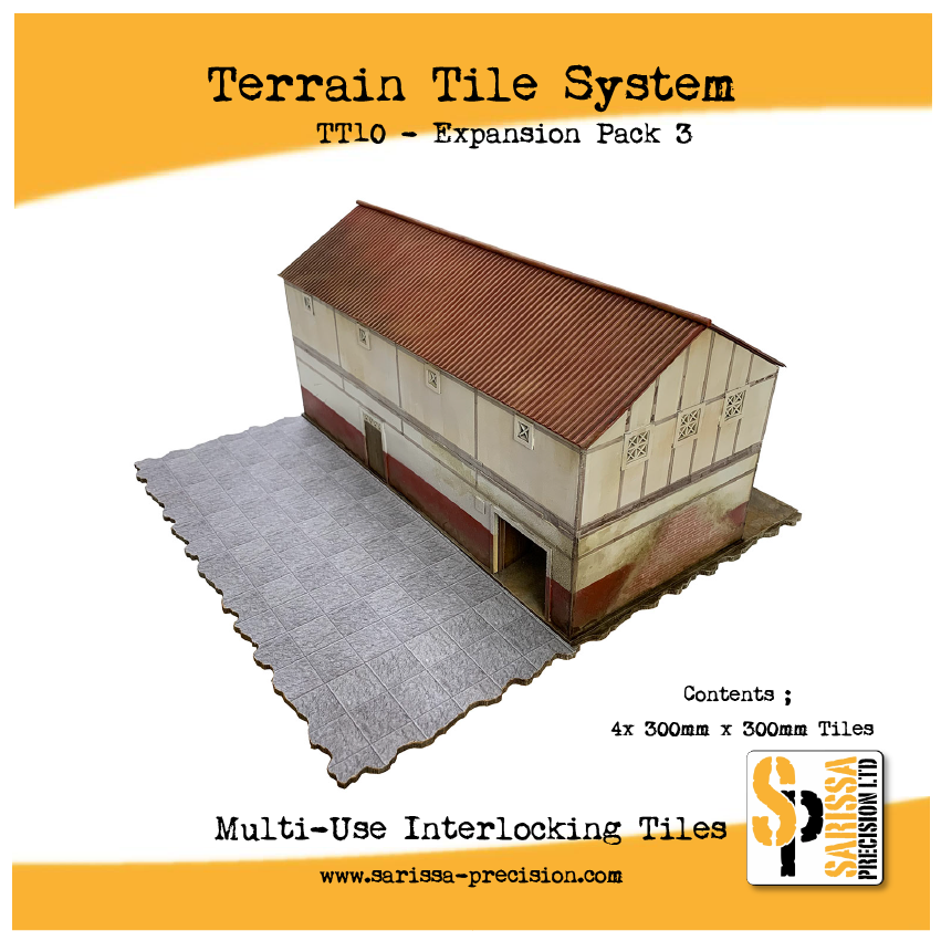 Terrain Tile System - Expansion Pack 3