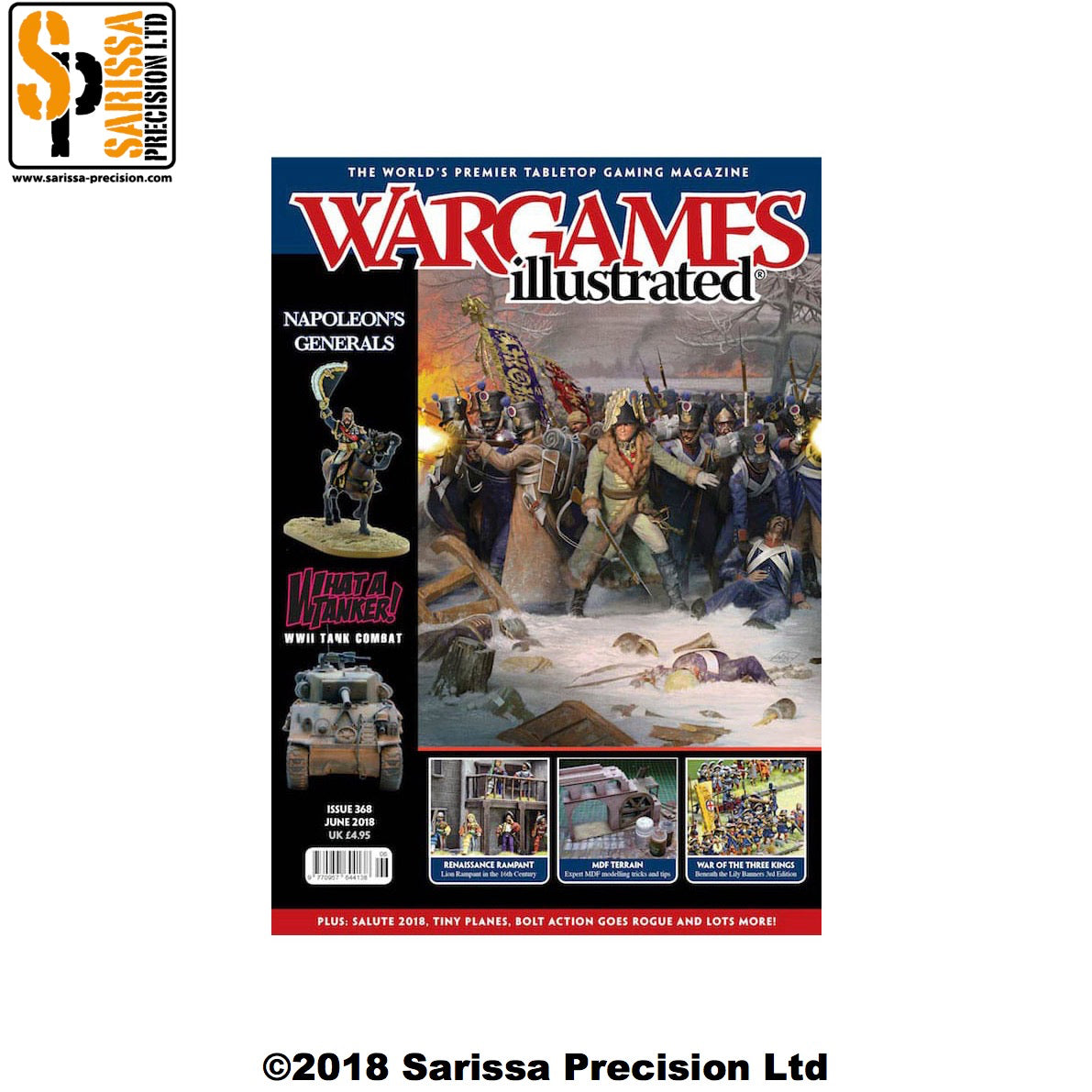 Wargames Illustrated 368 June 2018