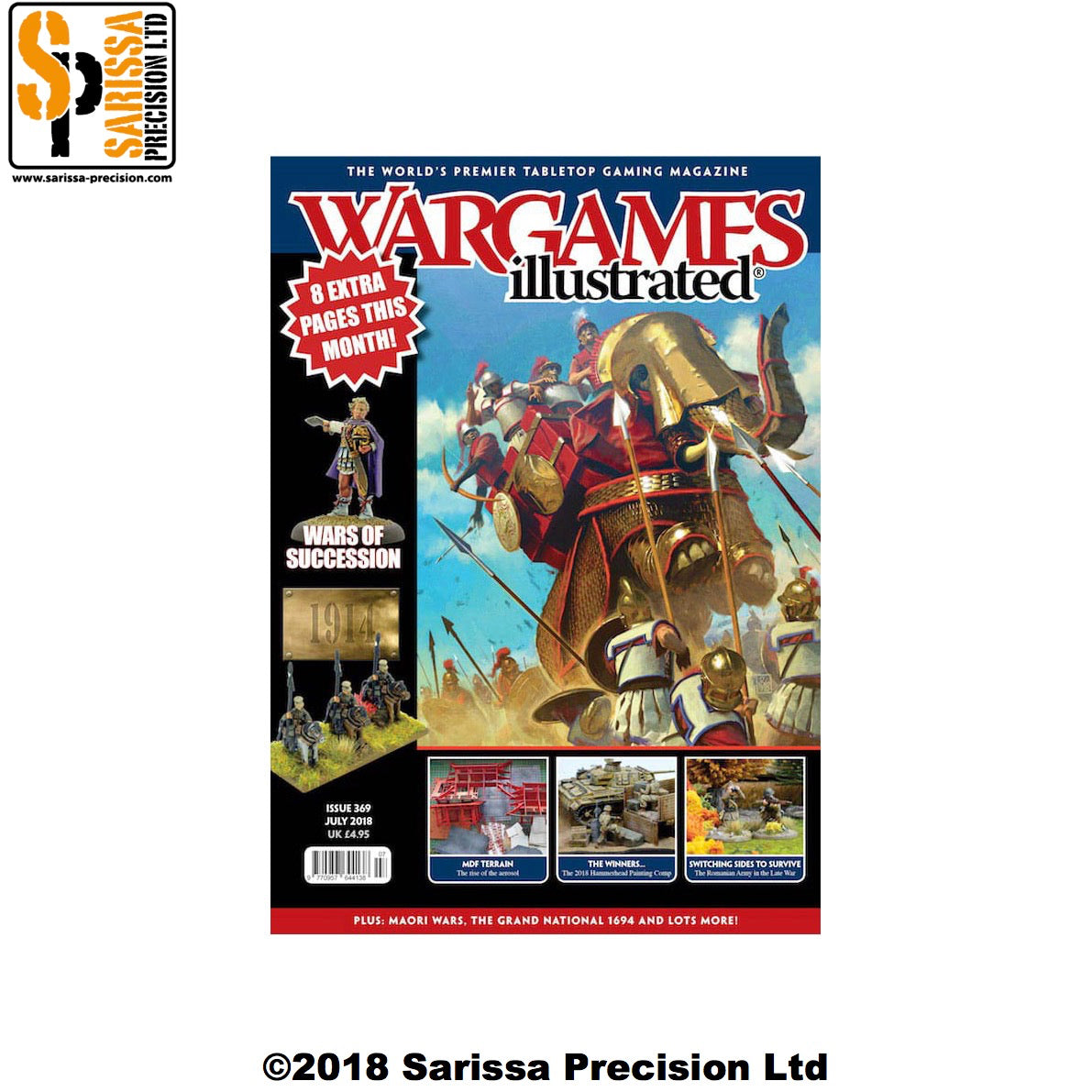 Wargames Illustrated 369 July 2018