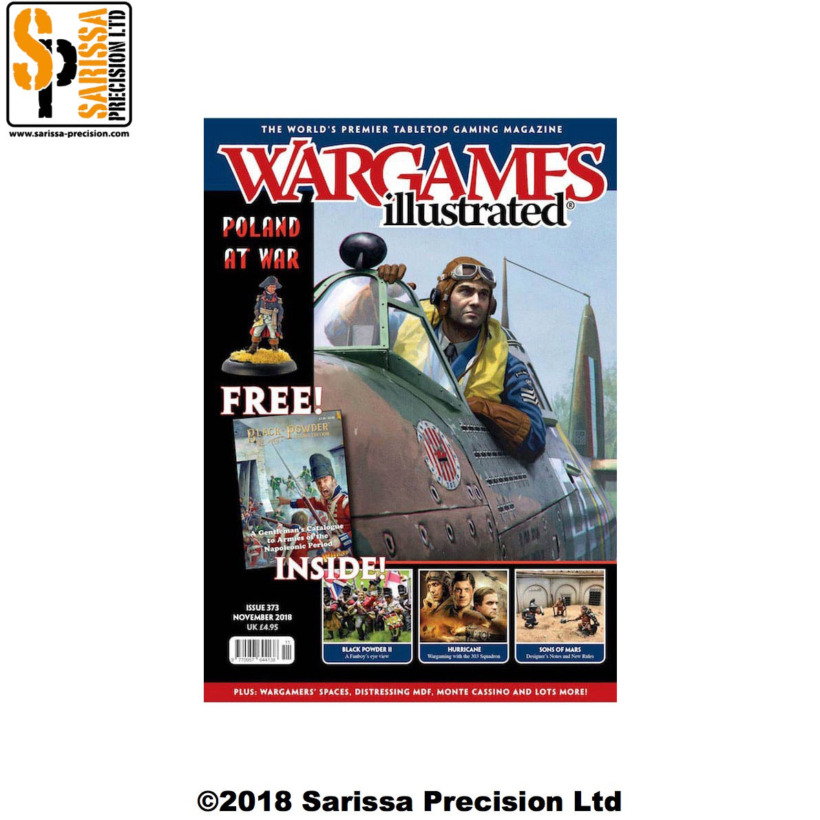 Wargames Illustrated 373 November 2018