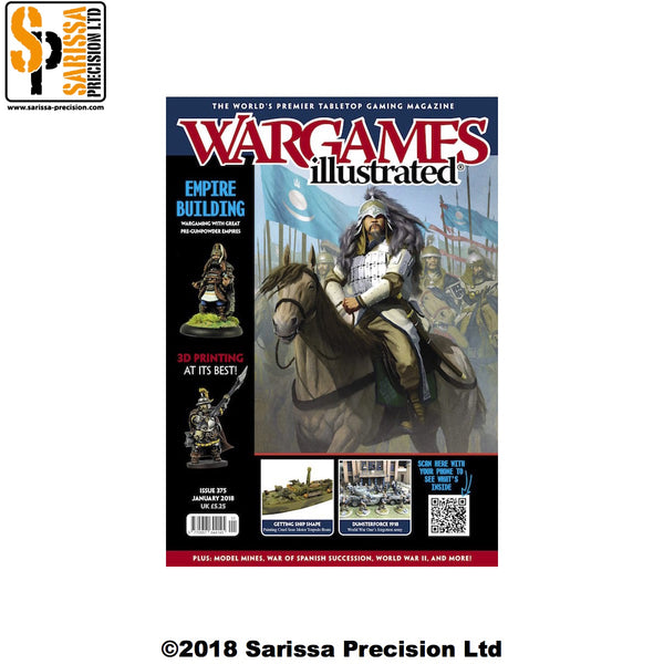 Wargames Illustrated 375 January 2019