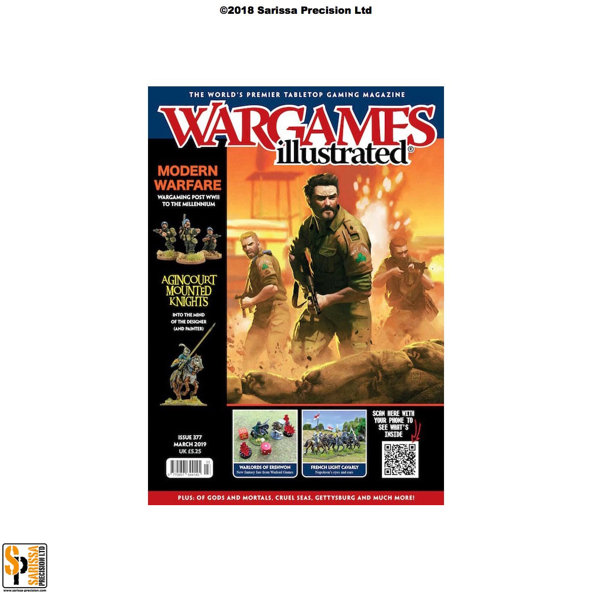 Wargames Illustrated 377 March 2019 - Chasseurs