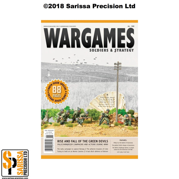 Wargames. Soldiers & Strategy 100 Feb / March 2019