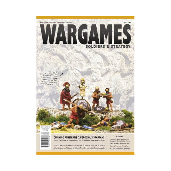 Wargames. Soldiers & Strategy 102 June / July 2019