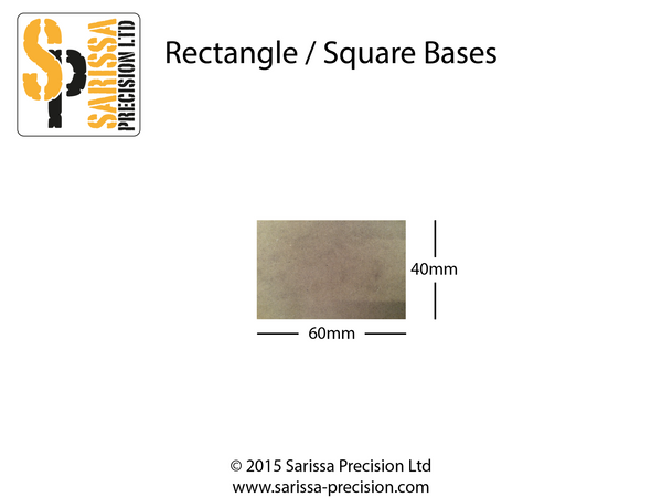60x40mm Base Pack