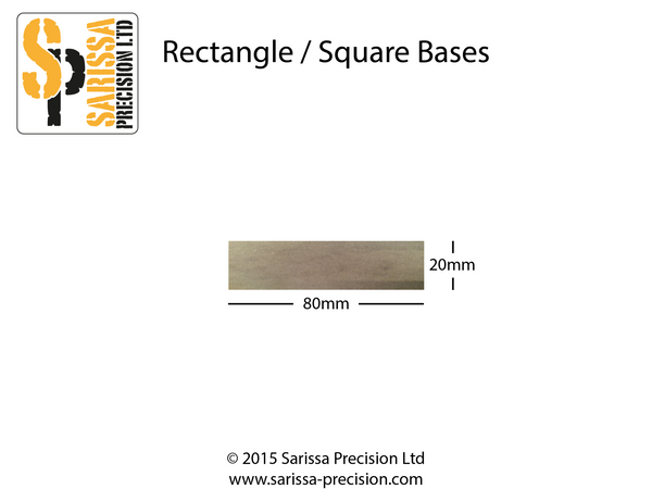 80x20mm Base Pack