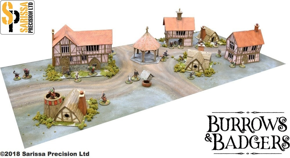 Warren Percy Town Set