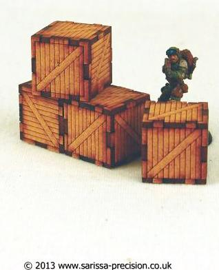 CityBlock Packing Crates