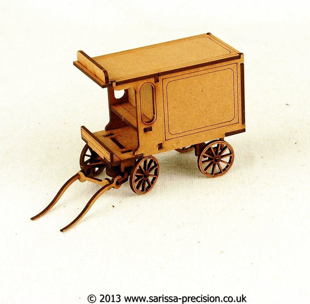 Horse Drawn Delivery Wagon