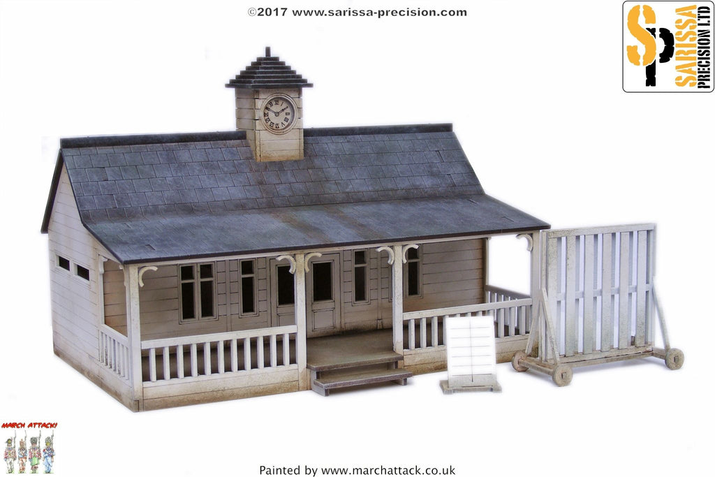 Cricket Pavilion Set
