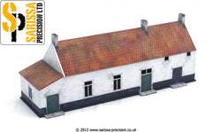 The Buildings at Warterloo 28mm