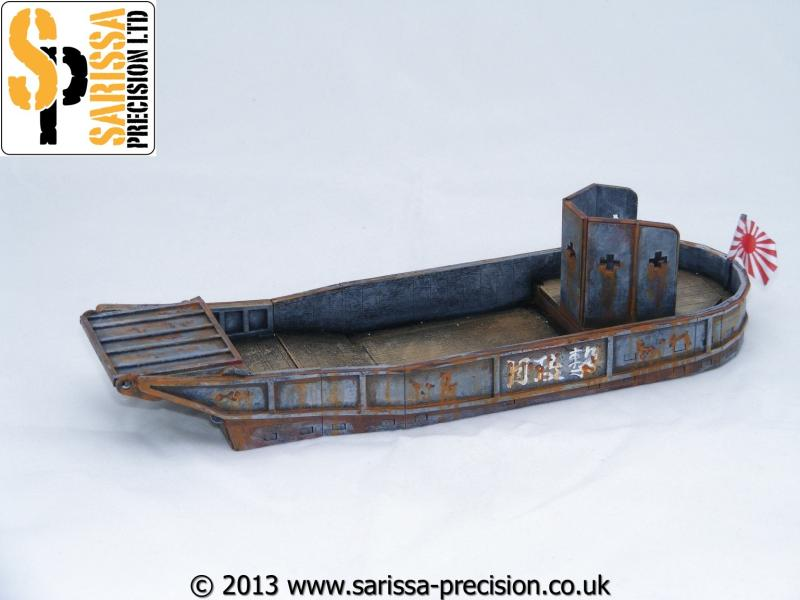 Japanese Landing Craft - 28mm