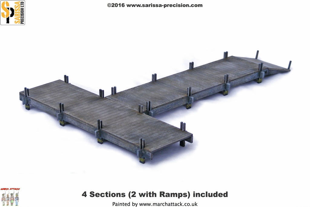 Wooden Jetty Set